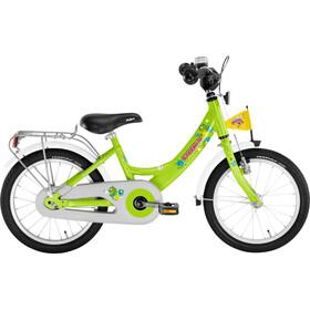 Bicicleta para niños Puky ZL 16-1 aluminio verde